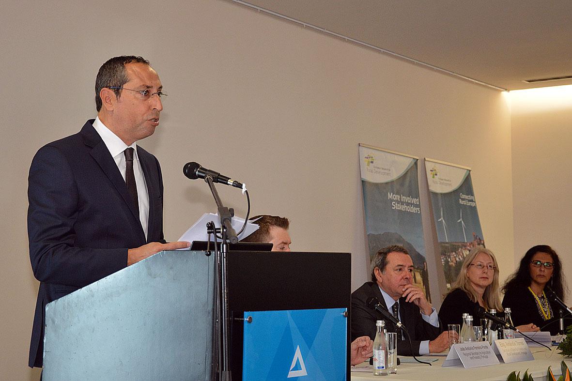 João Ponte defende reforço do PRORURAL+ e maior flexibilidade na sua implementação nos Açores