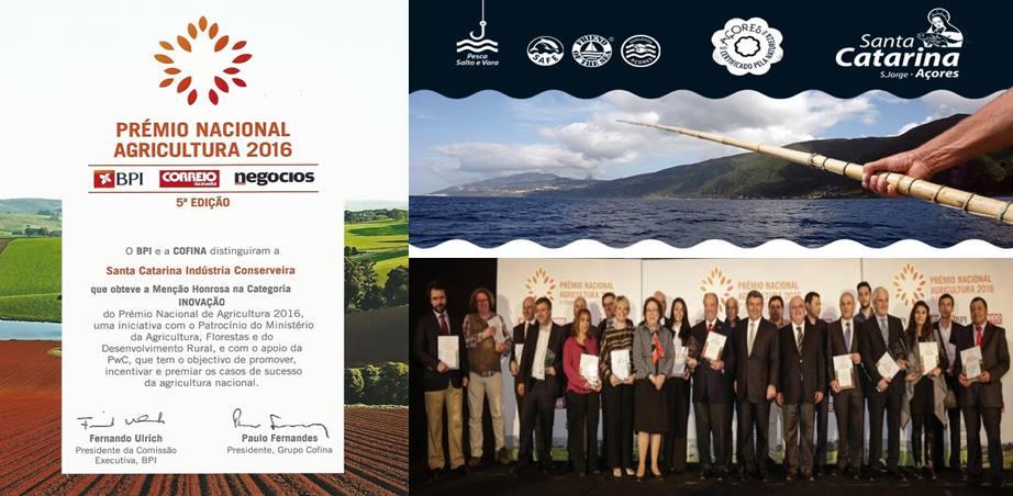 Santa Catarina distinguida com Menção Honrosa na categoria Inovação no Prémio Nacional de Agricultura