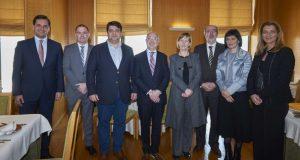 João Castro discutiu o CETA com o embaixador do Canadá
