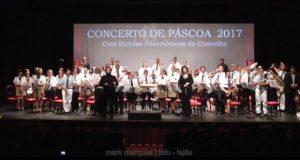 Auditório Municipal das Velas com casa cheia para assistir ao concerto do 1º estágio de Bandas Filarmónicas e curso de Direção