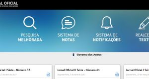Governo dos Açores aumenta transparência com o novo portal do Jornal Oficial da Região