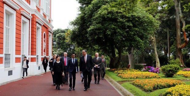 Vasco Cordeiro recebeu Deputados Europeus da Comissão de Desenvolvimento Regional