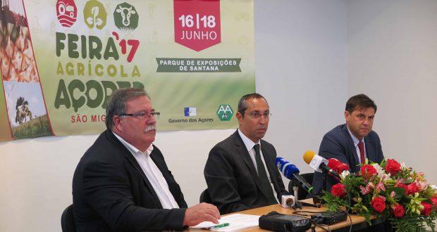 Feira Açores é uma montra do melhor que se faz na agricultura açoriana, afirma João Ponte