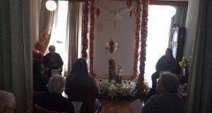Casa de Repouso João Inácio de Sousa recebeu Divino Espírito Santo e este domingo todos os idosos coroaram (c/áudio)