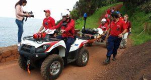 Bombeiros da Calheta resgatam turista que caiu no Trilho da Serra do Topo para Fajã de Santo Cristo – Missão demorou cerca de 5 horas (c/áudio)