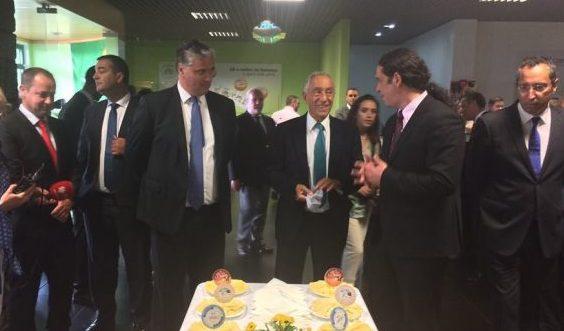 Fã nº1 do queijo de São Jorge, Marcelo Rebelo de Sousa não poupa nos elogios à ilha das fajãs (c/áudio)