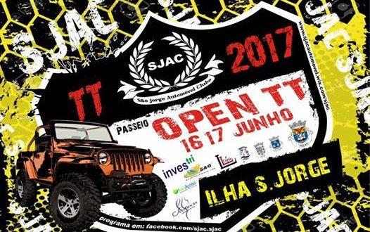 Passeio Open TT, em S.Jorge, parte para a estrada hoje pelas 21h com 28 jipes da categoria T2 (c/áudio)