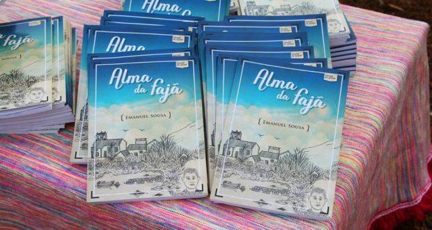 """Primeiro livro de Emanuel Sousa, """"Alma da Fajã"""", regista desabafos da vida do próprio autor (c/áudio)"""