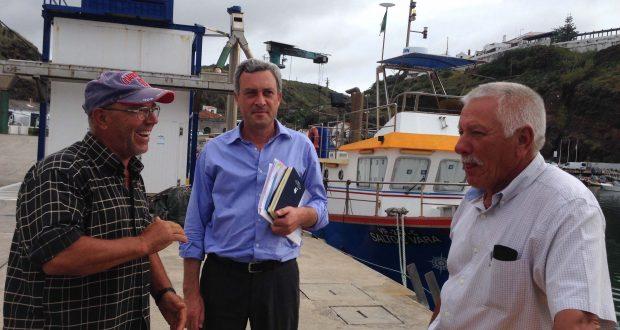 POSEI Pescas começou a ser pago esta segunda-feira aos pescadores açorianos, anuncia Gui Menezes