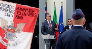 Ciclo de investimento em quartéis de bombeiros ascende a cerca de sete milhões de euros, anuncia Vasco Cordeiro