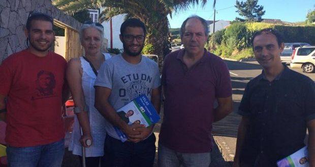 António Salgado quer quiosque do turismo na Praça Velha a funcionar e um novo Centro de Saúde para as Velas (c/áudio)