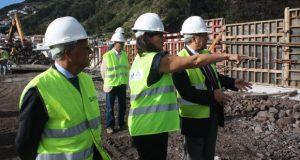 Prolongamento do molhe-cais do Porto das Velas deverá estar concluída até março de 2018, assegura Ana Cunha (c/áudio)