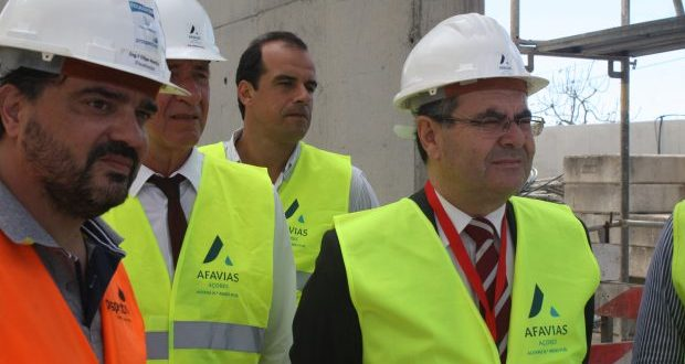 Investimentos na área da educação em São Jorge ficam selados depois da conclusão da obra da nova EBS da Calheta (c/áudio)