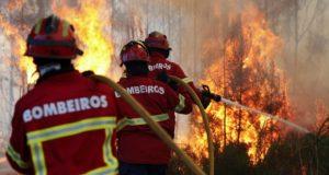 Governo dos Açores envia equipa de 55 bombeiros para ajudar no combate às chamas no continente