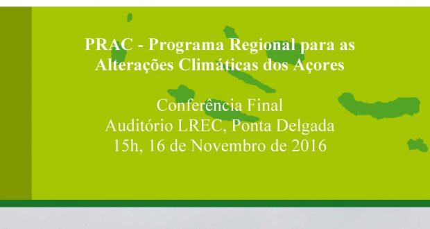 Plano Regional para as Alterações Climáticas em conferência final a 16 de novembro