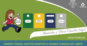 Recolha Seletiva de Resíduos começa sábado, 3 de fevereiro, no concelho das Velas – Luís Silveira garante que está tudo pronto e destaca campanha de sensibilização que já está em vigor (c/áudio)