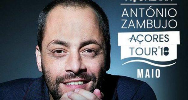 António Zambujo, em digressão pelos Açores, atua nas Velas a 11 de maio