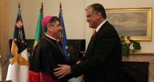 Presidente do Governo recebeu D. José Avelino Bettencourt