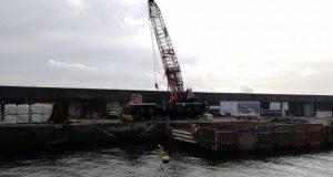 Operacionalidade do Porto da Calheta já está restabelecida após incidente com grua