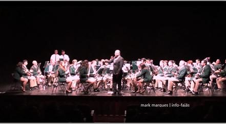 Filarmónica Nova Aliança subiu ao palco do Auditório Municipal das Velas para um Concerto de Páscoa (c/áudio)