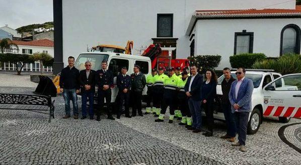 Município das Velas já tem Viaturas para a Proteção Civil Municipal – investimento de 250 mil euros vem preencher lacuna no concelho (c/áudio)