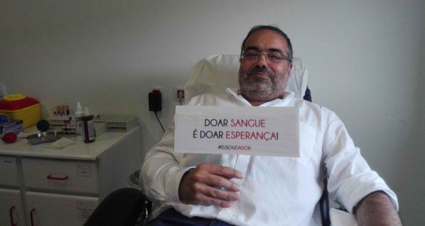 """Rui Luís afirma que """"doar sangue é doar esperança"""""""