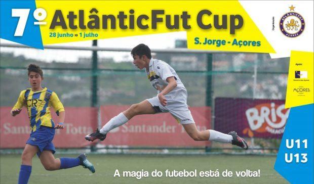 7º AtlânticFut Cup decorre de 28 de junho a 1 de julho e conta com número recorde de participantes e uma equipa vinda do estrangeiro