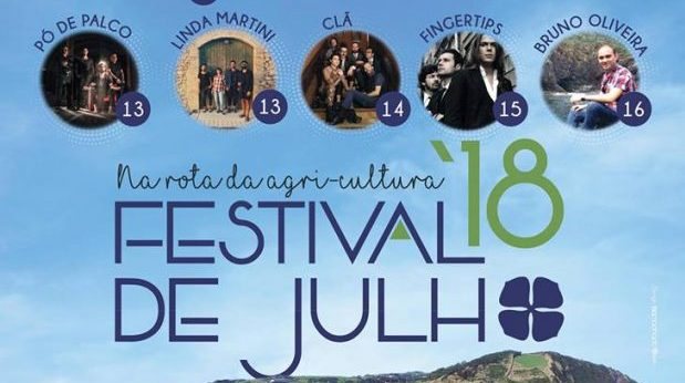 """Festival de Julho começa esta quinta-feira e decorre até 16 de julho sob o tema """"Na Rota da Agri-Cultura"""""""