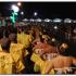 Noite de Marchas Populares com alguma chuva, mas com muita animação e sem ninguém a arredar pé (c/áudio)