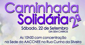 2ª Caminhada Solidária foi um sucesso e cumpriu propósito de esbater barreiras impostas pela mobilidade reduzida (c/áudio)