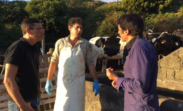 Eurodeputado do PCP contra a privatização da Indústria Conserveira Santa Catarina – Miguel Viegas reuniu, em S.Jorge, com principais setores da economia da ilha (c/áudio)