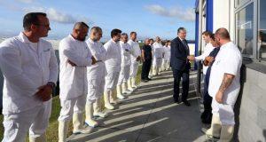 Vasco Cordeiro inaugura novo Matadouro do Faial integrado na estratégia de reforço da agricultura