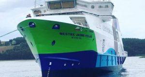 """""""Mestre Jaime Feijó"""", novo navio da Atlânticoline, já foi lançado à água"""