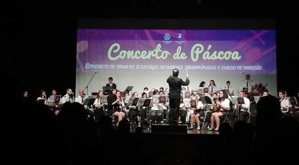 Auditório Municipal repleto para aplaudir de pé Concerto de Páscoa 2019 (c/áudio)