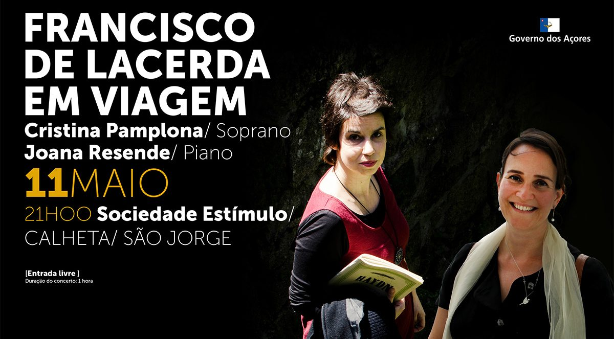 """Governo dos Açores promove concerto """"Francisco de Lacerda em Viagem"""""""