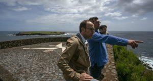 Em período de campanha eleitoral para as Europeias, André Bradford esteve de visita a São Jorge (c/áudio)