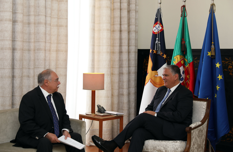 Vasco Cordeiro recebeu Presidente do novo Conselho Económico e Social