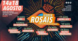 Começam hoje as Festas de Rosais 2019 – April Ivy e Nuno Ribeiro são cabeças de cartaz (c/áudio)