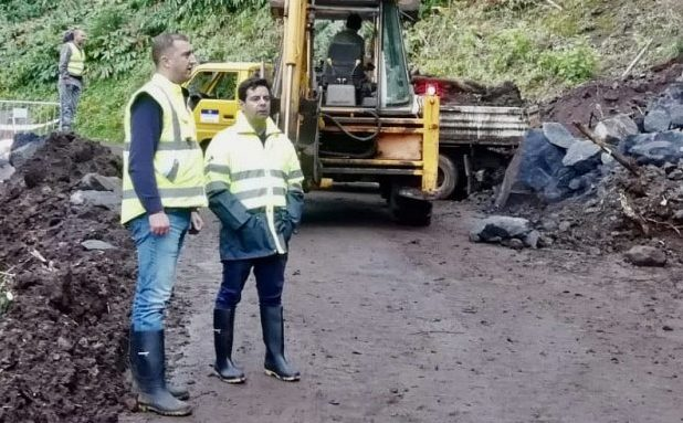 Governo dos Açores avança com intervenção no acesso rodoviário à Fajã do Ouvidor, em São Jorge