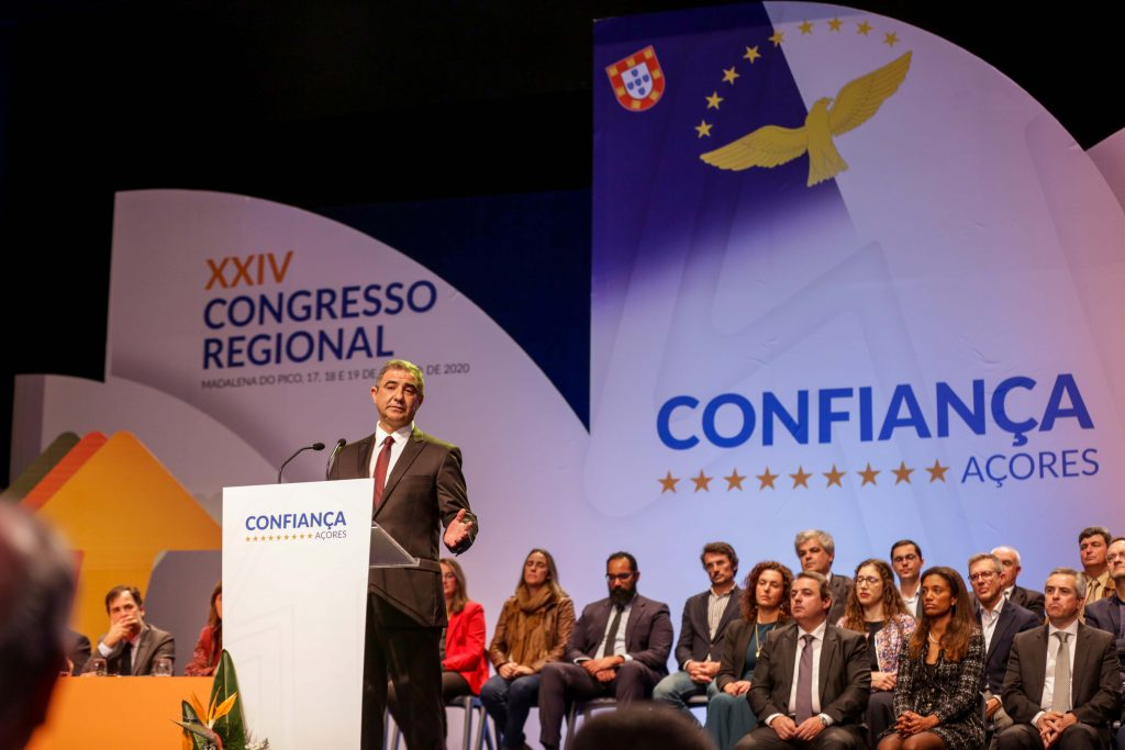 """José Manuel Bolieiro quer ser Presidente do Governo para """"fazer a diferença"""""""