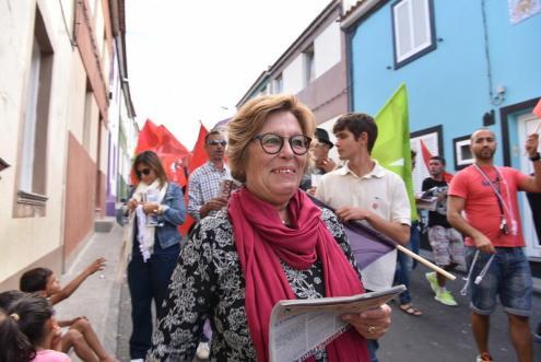 Morreu Zuraida Soares, antiga coordenadora do BE/Açores