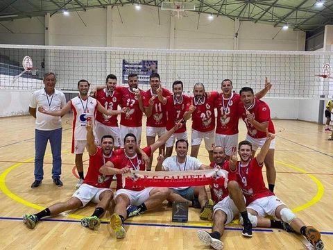 Futebol Clube Calheta é Campeão regional de Voleibol e ascende à II Divisão Masculina – Zona Açores