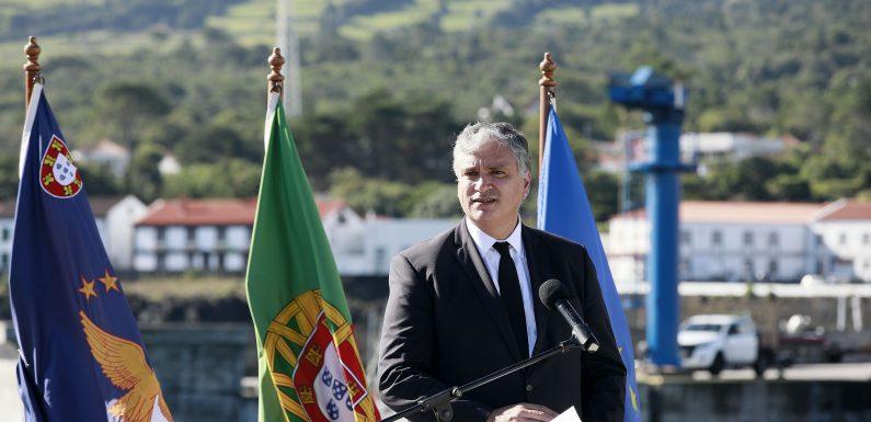 Vasco Cordeiro preside ao arranque da construção do novo Terminal de Passageiros de São Roque do Pico