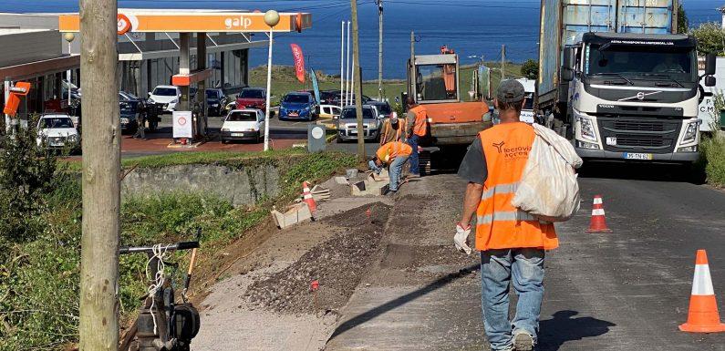 Governo dos Açores investiu mais de quatro milhões de euros na requalificação da rede viária em São Jorge