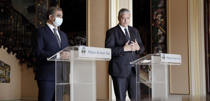 Vasco Cordeiro recebeu José Manuel Bolieiro para definir transição de Governos com normalidade