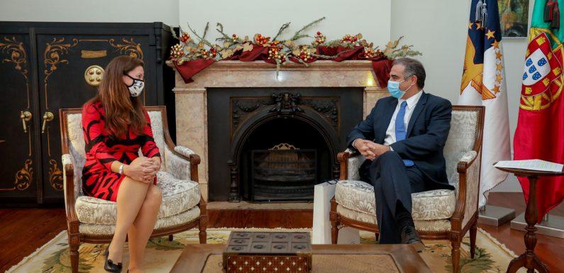 Presidente do Governo reforça empenho no relacionamento entre os Açores e os Estados Unidos