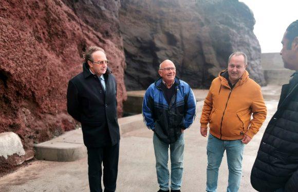 Secretário Regional do Mar e das Pescas garante grua de dez toneladas para o Porto do Topo de São Jorge