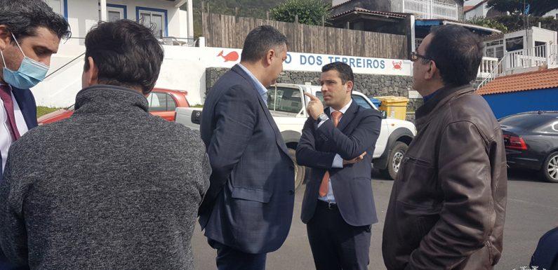Visita do Secretário Regional do Ambiente a São Jorge