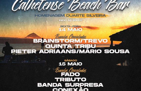 Homenagem a Duarte Silveira na reabertura do Calhetense Beach Bar