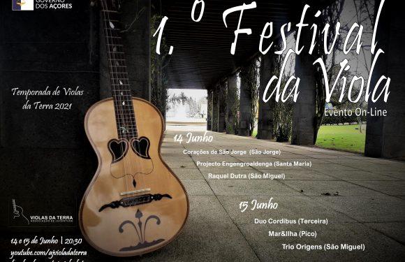 """""""I Festival da Viola"""" arranca segunda-feira com grupos de 5 Ilhas dos Açores"""